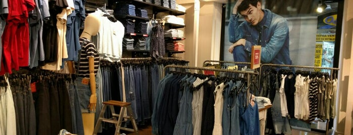 Levi's is one of Barcelona.