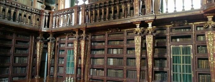Biblioteca Joanina is one of K. : понравившиеся места.