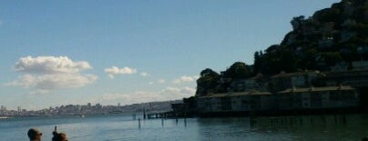 Sausalito Downtown is one of SanFran.