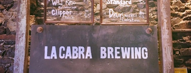 La Cabra Brewing is one of Orte, die JASON gefallen.