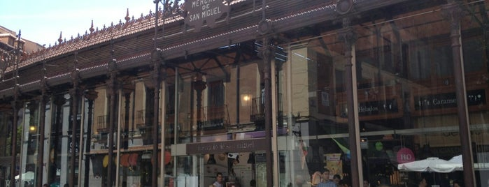 Mercado de San Miguel is one of S Marks The Spots in MADRID.