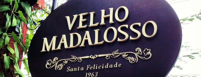 Velho Madalosso is one of Food.