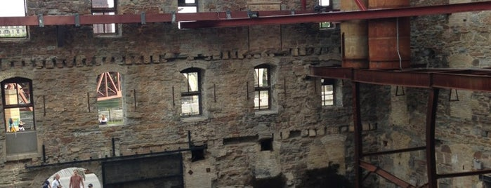 Mill City Museum is one of West Coast Sites.