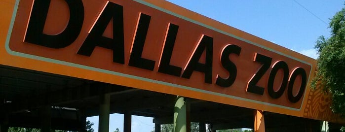 Dallas Zoo is one of Dallas-Fort Worth.