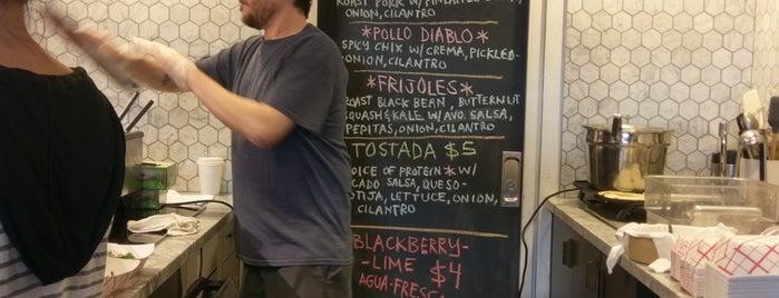 El Super Tacos is one of Dumbo.