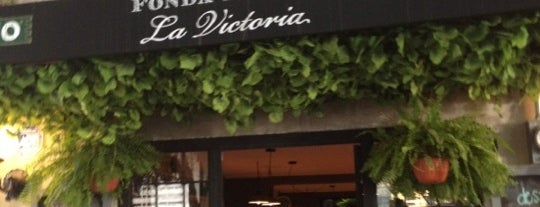Fonda Bistro La Victoria is one of 50 lugares para comer rico (por menos de $150).