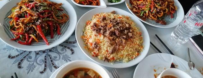 Tarhan Uyghur Restaurant is one of Merve'nin Beğendiği Mekanlar.