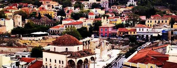 Monastiraki Square is one of A local's guide: 48 hours in Athens.
