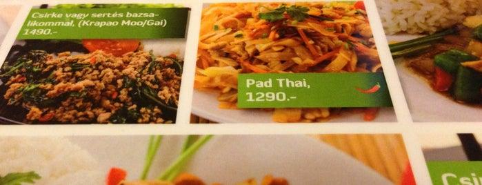 Green Thai Ételbár is one of Ezeket is kipróbálhatnánk :).