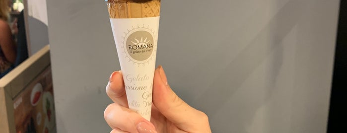 Gelateria La Romana is one of Italy.