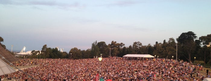 Sidney Myer Music Bowl is one of Alexa : понравившиеся места.