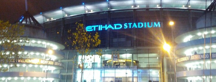 Etihad Stadium is one of Stadium.