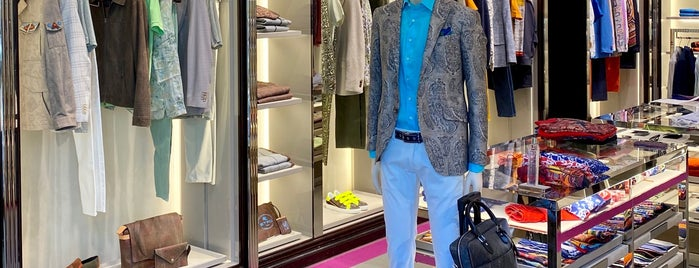 Etro Store is one of Madrid.
