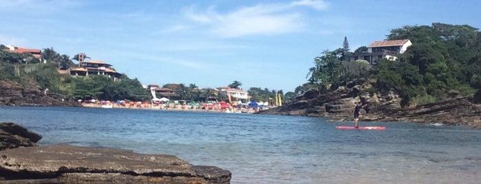 Praia dos Amores is one of Búzios RJ.