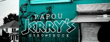Papou Jerry's Gyro Truck is one of Food Trucks.
