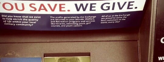 AAFES - PX is one of LA - South.