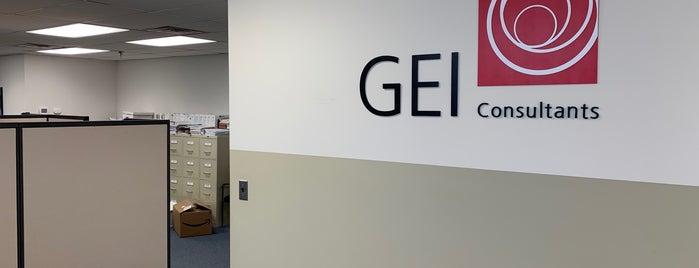 GEI Consultants, Inc. is one of AJ'ın Beğendiği Mekanlar.