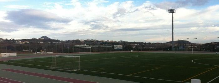 Campo Futbol Claret is one of Lugares guardados de La Oliva.