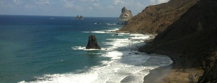 Playa de Benijo is one of Islas Canarias: Tenerife.
