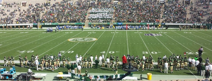 Hughes Stadium is one of Sporting Venues....