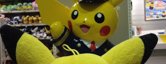 Pokemon Store is one of SC/Osaka + Kyoto.