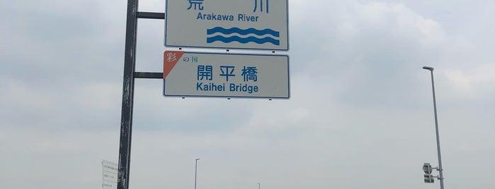 開平橋 is one of Lugares favoritos de papecco2017.