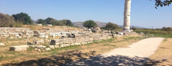 Heraion of Samos is one of Samos.