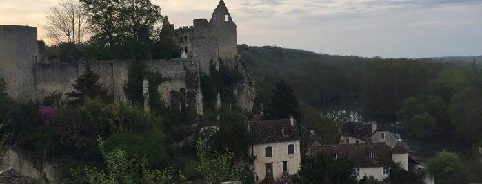 Angles-sur-l'Anglin is one of Les plus beaux villages de France.