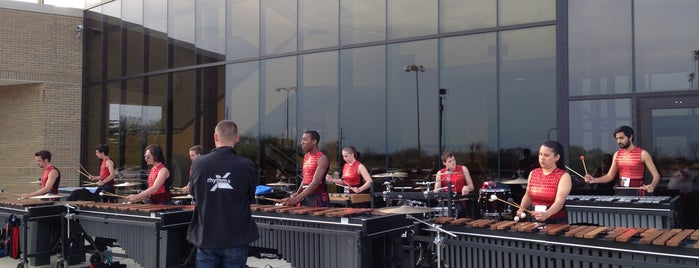 Centerville High School is one of Dezzys Stops on DCI Tour.