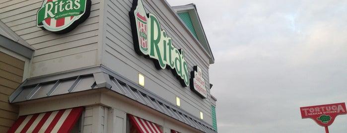 Rita's Italian Ice & Frozen Custard is one of Galveston.