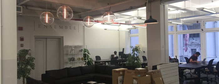 Ensemble is one of NYC Work Spaces & Tech Startups.