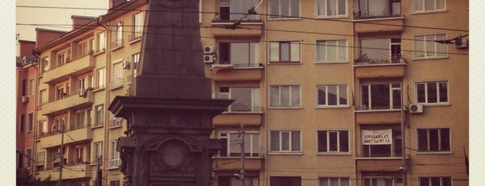 "Паметник ""Васил Левски"" is one of Sofia, Bulgaria."
