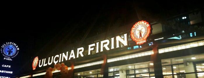 Uluçınar Fırın Cafe&Bistro is one of Orte, die Gurme gefallen.