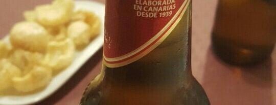 El Guachinche is one of Canarios en madrid.