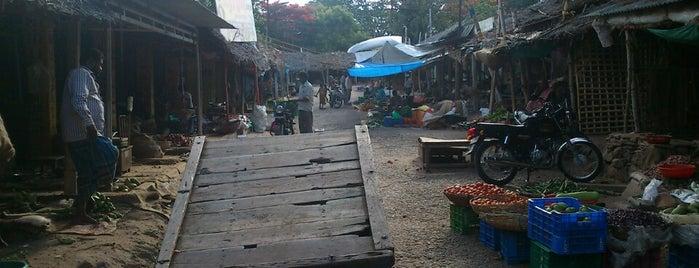 Pollachi Market is one of สถานที่ที่ Waleed ถูกใจ.