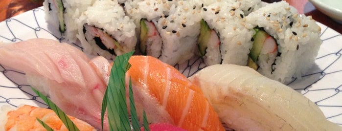 Sushi Avenue is one of Atlanta: Cheap Eats.