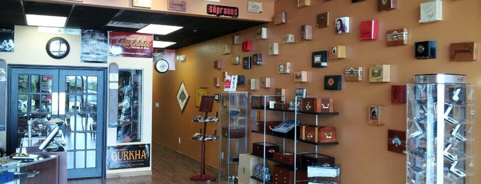 Cigars & More is one of Cigar Friendly Bars and Shops.