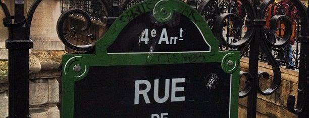 Rue de Rivoli is one of Fleur's Paris.