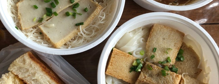 Wong Lam Kee Chiu Chow Fish Ball Noodles is one of สถานที่ที่ Jacquie ถูกใจ.