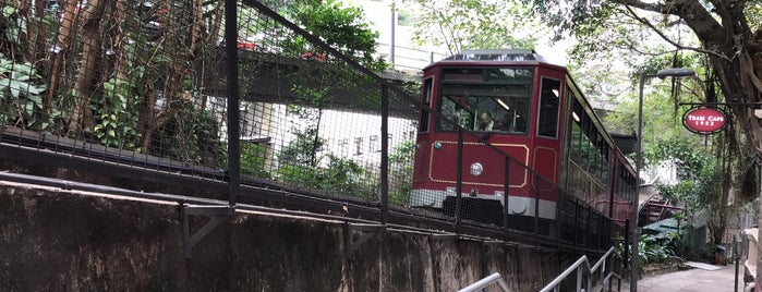Tramway Path is one of HK's Roads Path.