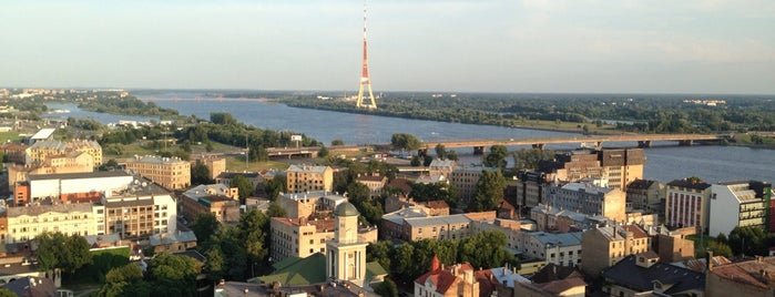 Panorāma Rīga (Latvijas Zinātņu Akadēmijas 17. stāvs) is one of Riga 🇱🇻.
