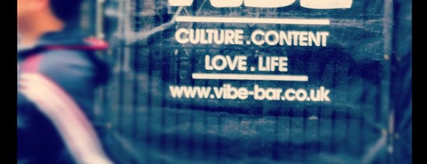Vibe Bar is one of London.