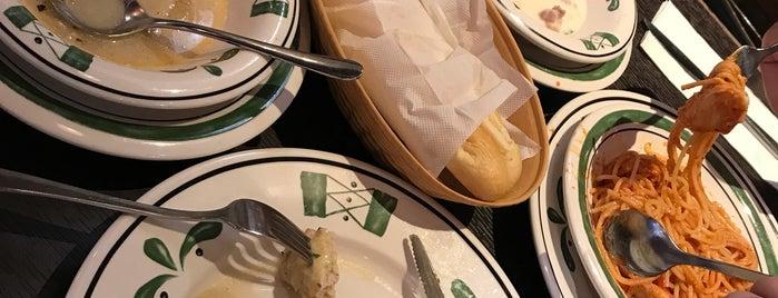Olive Garden is one of Yemek yenilesi yerler.