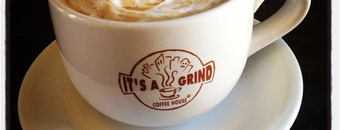 It's A Grind Coffee House is one of Favorite coffee houses.