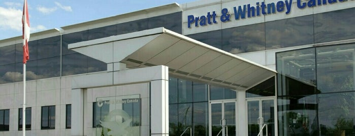 Pratt & Whitney Canada (Plant 1) is one of Locais curtidos por Nathan.
