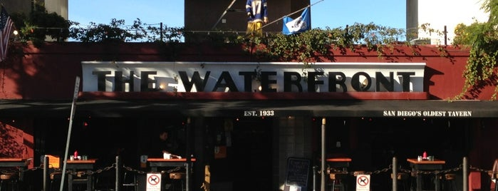 The Waterfront Bar & Grill is one of San Diego.