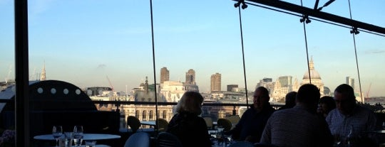 OXO Tower Restaurant, Bar and Brasserie is one of London's great locations - Peter's Fav's.