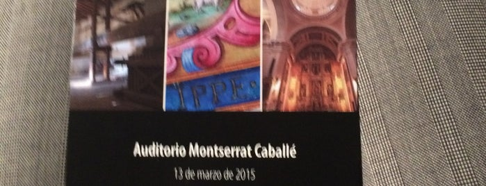 Conservatorio Municipal Montserrat Caballe is one of Madrid.