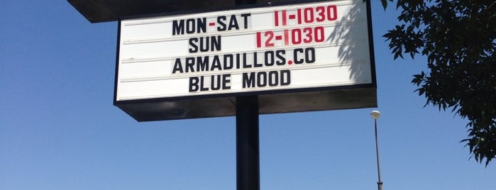 Armadillos Ice Cream Shoppe is one of Locais curtidos por Katie.