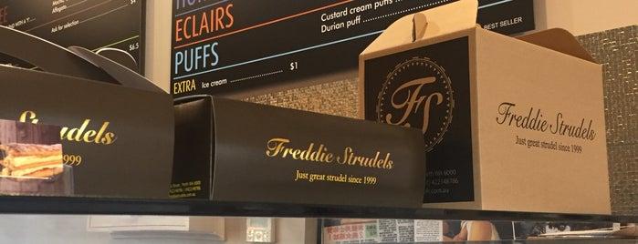 Freddie Strudels is one of สถานที่ที่ Caitlin ถูกใจ.